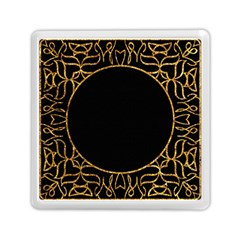 Abstract  Frame Pattern Card Memory Card Reader (square)