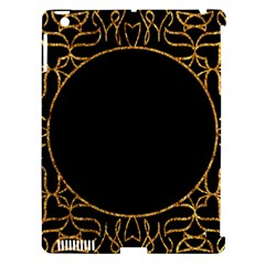 Abstract  Frame Pattern Card Apple iPad 3/4 Hardshell Case (Compatible with Smart Cover)