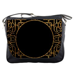 Abstract  Frame Pattern Card Messenger Bags
