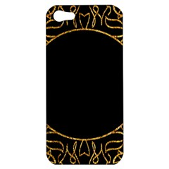 Abstract  Frame Pattern Card Apple iPhone 5 Hardshell Case