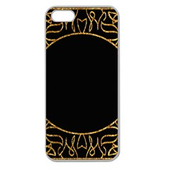 Abstract  Frame Pattern Card Apple Seamless iPhone 5 Case (Clear)