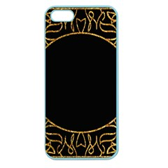 Abstract  Frame Pattern Card Apple Seamless iPhone 5 Case (Color)