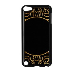 Abstract  Frame Pattern Card Apple iPod Touch 5 Case (Black)