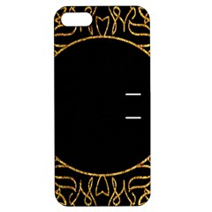 Abstract  Frame Pattern Card Apple Iphone 5 Hardshell Case With Stand