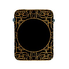 Abstract  Frame Pattern Card Apple iPad 2/3/4 Protective Soft Cases