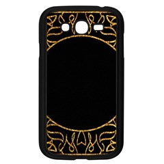 Abstract  Frame Pattern Card Samsung Galaxy Grand Duos I9082 Case (black)