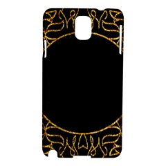Abstract  Frame Pattern Card Samsung Galaxy Note 3 N9005 Hardshell Case