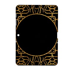 Abstract  Frame Pattern Card Samsung Galaxy Tab 2 (10.1 ) P5100 Hardshell Case