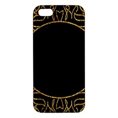 Abstract  Frame Pattern Card Iphone 5s/ Se Premium Hardshell Case
