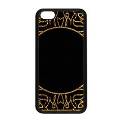 Abstract  Frame Pattern Card Apple iPhone 5C Seamless Case (Black)