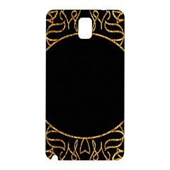 Abstract  Frame Pattern Card Samsung Galaxy Note 3 N9005 Hardshell Back Case