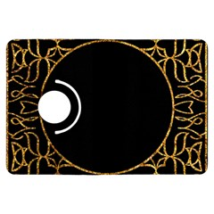 Abstract  Frame Pattern Card Kindle Fire HDX Flip 360 Case