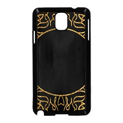 Abstract  Frame Pattern Card Samsung Galaxy Note 3 Neo Hardshell Case (Black)