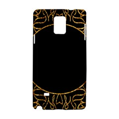 Abstract  Frame Pattern Card Samsung Galaxy Note 4 Hardshell Case