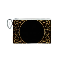 Abstract  Frame Pattern Card Canvas Cosmetic Bag (s)