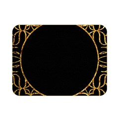 Abstract  Frame Pattern Card Double Sided Flano Blanket (Mini)