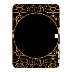 Abstract  Frame Pattern Card Samsung Galaxy Tab 4 (10.1 ) Hardshell Case