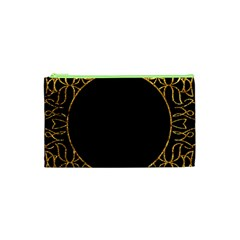 Abstract  Frame Pattern Card Cosmetic Bag (XS)