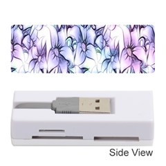 Floral Pattern Background Memory Card Reader (stick)
