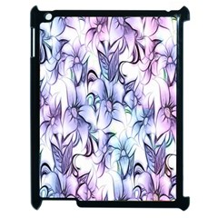 Floral Pattern Background Apple Ipad 2 Case (black)