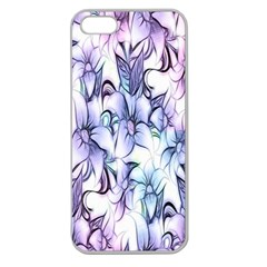 Floral Pattern Background Apple Seamless iPhone 5 Case (Clear)