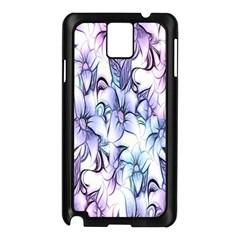 Floral Pattern Background Samsung Galaxy Note 3 N9005 Case (Black)