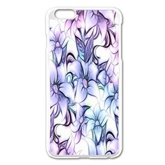 Floral Pattern Background Apple iPhone 6 Plus/6S Plus Enamel White Case