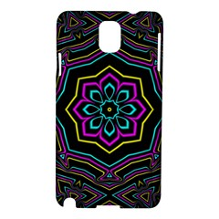 Cyan Yellow Magenta Kaleidoscope Samsung Galaxy Note 3 N9005 Hardshell Case