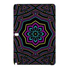Cyan Yellow Magenta Kaleidoscope Samsung Galaxy Tab Pro 10.1 Hardshell Case