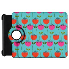 Tulips Floral Background Pattern Kindle Fire HD 7