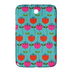 Tulips Floral Background Pattern Samsung Galaxy Note 8.0 N5100 Hardshell Case