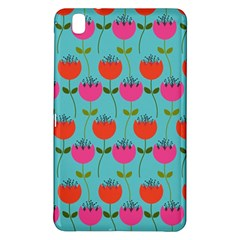 Tulips Floral Background Pattern Samsung Galaxy Tab Pro 8.4 Hardshell Case