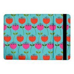 Tulips Floral Background Pattern Samsung Galaxy Tab Pro 10.1  Flip Case