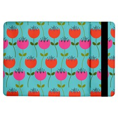 Tulips Floral Background Pattern iPad Air Flip