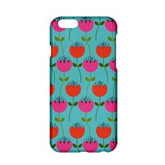Tulips Floral Background Pattern Apple Iphone 6/6s Hardshell Case