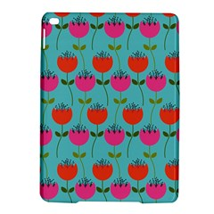 Tulips Floral Background Pattern iPad Air 2 Hardshell Cases