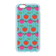 Tulips Floral Background Pattern Apple Seamless iPhone 6/6S Case (Color)