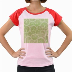Pattern Women s Cap Sleeve T-Shirt