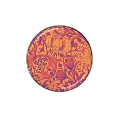 Floral pattern Hat Clip Ball Marker (10 pack)