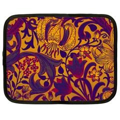 Floral pattern Netbook Case (XXL)