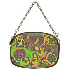 Floral pattern Chain Purses (One Side)