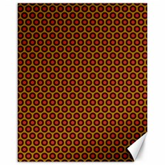 Lunares Pattern Circle Abstract Pattern Background Canvas 16  X 20