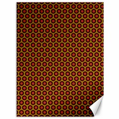 Lunares Pattern Circle Abstract Pattern Background Canvas 36  x 48