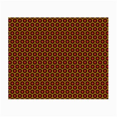 Lunares Pattern Circle Abstract Pattern Background Small Glasses Cloth (2 Side)