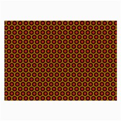 Lunares Pattern Circle Abstract Pattern Background Large Glasses Cloth (2 Side)