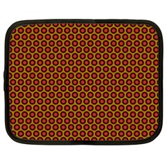 Lunares Pattern Circle Abstract Pattern Background Netbook Case (xxl)