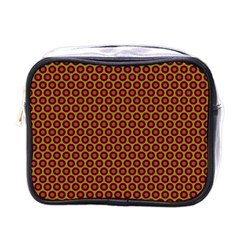 Lunares Pattern Circle Abstract Pattern Background Mini Toiletries Bags
