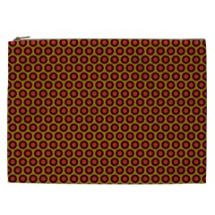 Lunares Pattern Circle Abstract Pattern Background Cosmetic Bag (XXL)