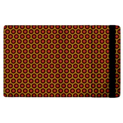 Lunares Pattern Circle Abstract Pattern Background Apple iPad 2 Flip Case