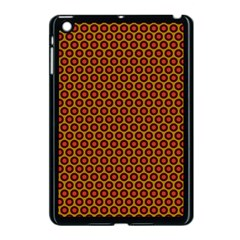 Lunares Pattern Circle Abstract Pattern Background Apple iPad Mini Case (Black)